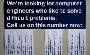 Funny job ad for computer engineers
