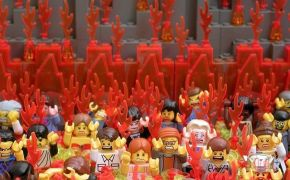 Funny Picture – Lego Hell