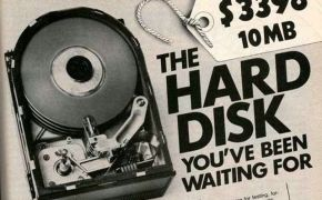 Hard Disk 10MB for $3398