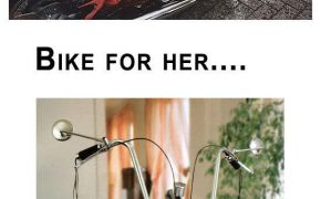 The Bike for him and the bike for her