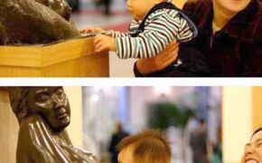 Baby Loves Statue